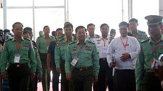 نظامیان در میانمار