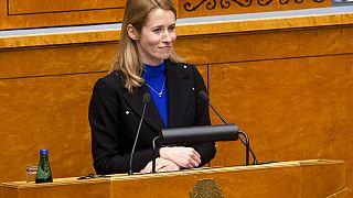 Kaja Kallas mandátumát a 101 fős országgyűlésből 70 képviselő támogatta.