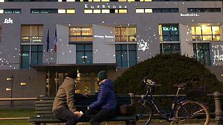 Französische Botschaft am Pariser Platz in Berlin