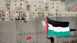 عکس آرشیوی از کرانه باختری رود اردن