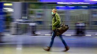 Am Flughafen Frankfurt