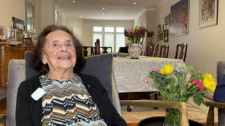 Lily Ebert has survived both the Holocaust and COVID-19.