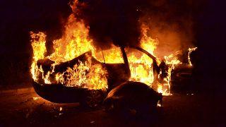 Protest gegen harten Lockdown und Armut in Tripolis