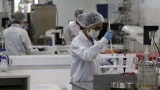 تصویر یک آزمایشگاه در برزیل