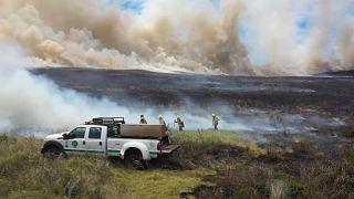 Incendios en la Isla de Pascua