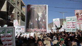 Yemen'de ABD karşıtı protesto