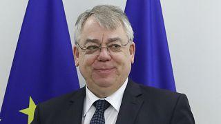 Klaus-Heiner Lehne, az Európai Számvevőszék (ECA) vezetője