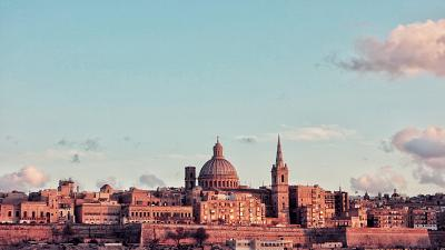 Valletta in Malta is open for tourism right now