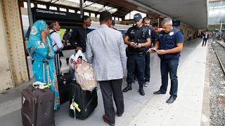 Archives - Contrôle d'identité par la police à Marseille, le 15/09/2015