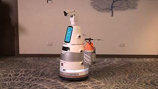 Quénia aposta em robôs japoneses para combater covid-19