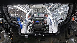 کارخانه فولکس واگن در آلمان
