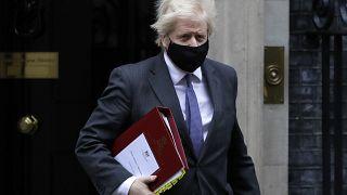 رئيس الوزراء البريطاني بوريس جونسون، 20 يناير 2021