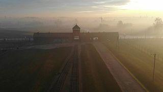 صور جوية لأوشويتس في يوم ذكرى المحرقة النازية