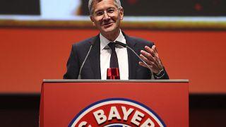 Bayern-Präsident Herbert Hainer vor seiner Amtszeit 2019.