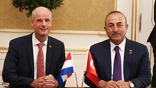 Stef Blok ve Mevlüt Çavuşoğlu