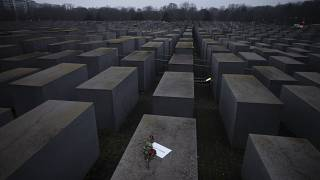 Holocaust-Mahnmal in Berlin.