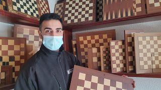David Ferrer, dueño de la empresa que fabrica los tableros de ajedrez de la serie de Gambito de Dama