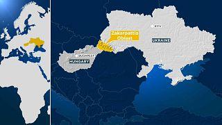 Transcarpathia, also known as the Zakarpattia Oblast, on Ukraine's Hungarian border.