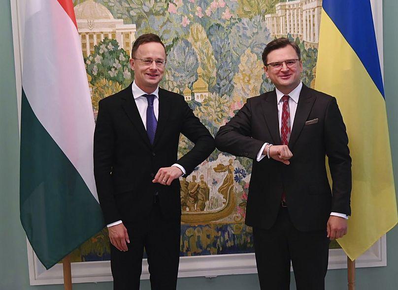 Ukrainian Foreign Ministry Press Office via AP - FILE