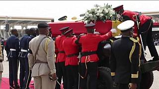 Ghana holds state funeral for revered leader Jerry Rawlings