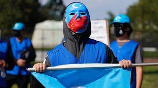 Washington'da Uygurlara destek eylemi / Arşiv