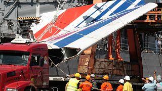 Rio de Janeiro-Paris seferi sırasında düşen uçağın enkazı, 2009