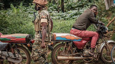 Uganda police arrest three suspected rebels