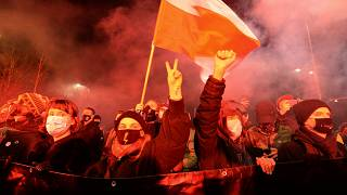 The ruling banning abortions has sparked fresh protests in Poland