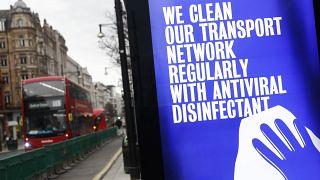 """""""Noi puliamo la nostra rete di trasporti regolarmente con disinfettante antivirale""""."""