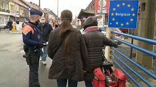 Belgische Grenzkontrolle