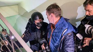 Задержание Олега Навального