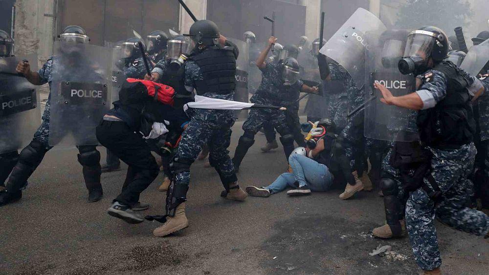 منظمة العفو الدولية تندّد باستخدام لبنان أسلحة فرنسية لقمع مظاهرات سلمية