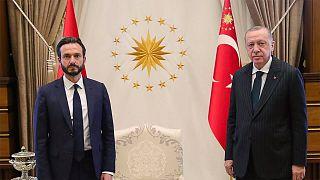AİHM Başkanı Sopano, Türkiye ziyaretinde Cumhurbaşkanı Erdoğan ile bir araya gelmişti.