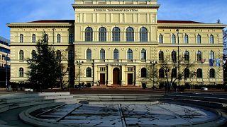 A Szegedi Tudományegyetem rektori hivatala
