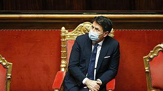 Giuseppe Conte néhány nappal ezelőtt (illusztráció)