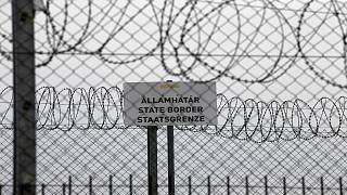 منقطة حدودية، بالقرب من قرية أوستالوم المجرية تفصل المجرر وصربيا/ 18 نيسان/أبريل 2019