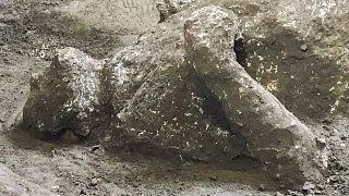 Pompei'den bir insan bedeni