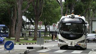 حافلات القيادة الذاتية