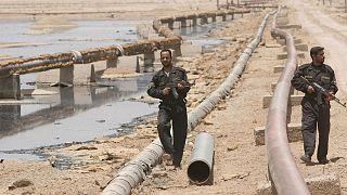 تامین امنیت خط لوله نفت در شمال بصره