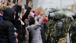 Protests have raged in Belarus since the disputed reelection of Alexander Lukashenko