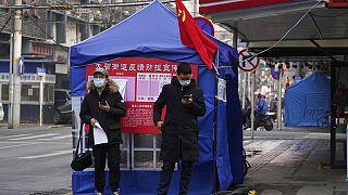 Covid-19 pandemisinin dünyadaki çıkış noktası olan Wuhan şehrinden bir kare.