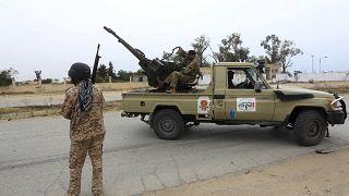 عناصر تابعة لقوات حكومة الوفاق الوطني (طرابلس)