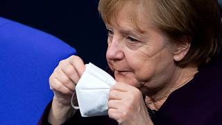 Angela Merkel extended Germany's lockdown in January