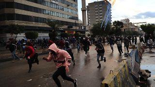 ادامه اعتراضها در شهر طرابلس لبنان