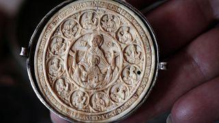 Контрабандный артефакт в музее Софии