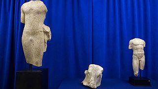 Αρχαιότητες που επεστράφησαν στον Λίβανο