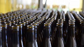 Kiürült sörösüvegek