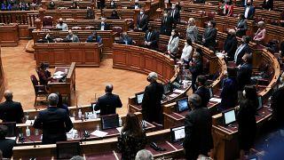 Sessão plenária no Parlamento, Lisboa (imagem de arquivo)