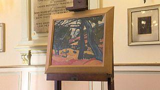 """""""Pinède, Cassis"""", le tableau de André Derain"""