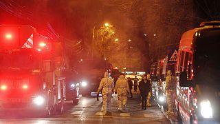 آتشسوزی در رومانی